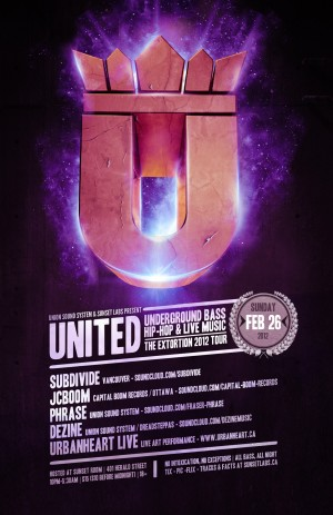 UNITED : Extortion Tour 2012